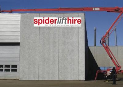 Zeus 32-16 32m Spider Lift