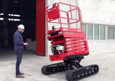 Athena 850 HE Rough Terrain Scissor lift