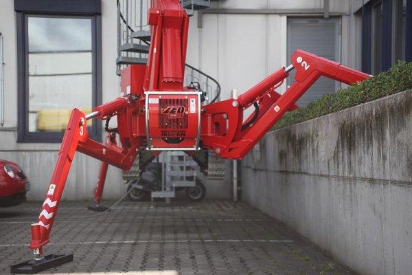 Zeus 21GT – 21m Spider Lift